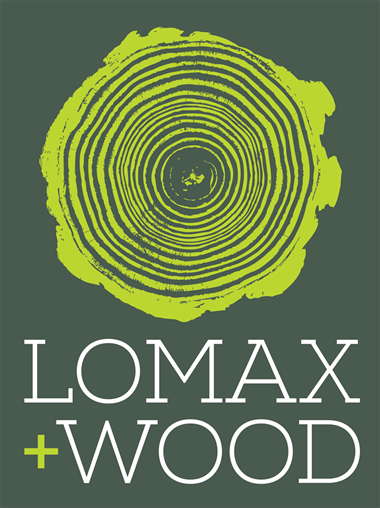 Lomax Wood website - Responsive - Branding Logo