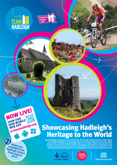 Graphic design - display poster | Team Hadleigh