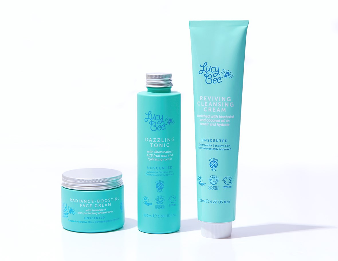 Lucy Bee Skincare Product Range
