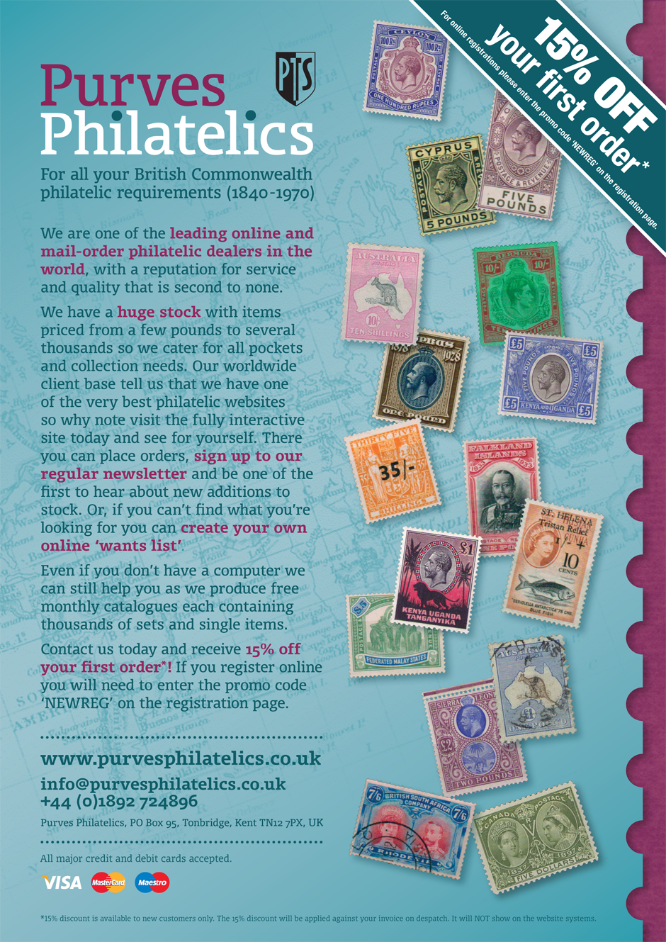 Purves Philatelics advert