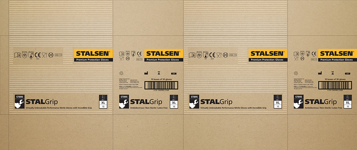STALGrip outer carton net