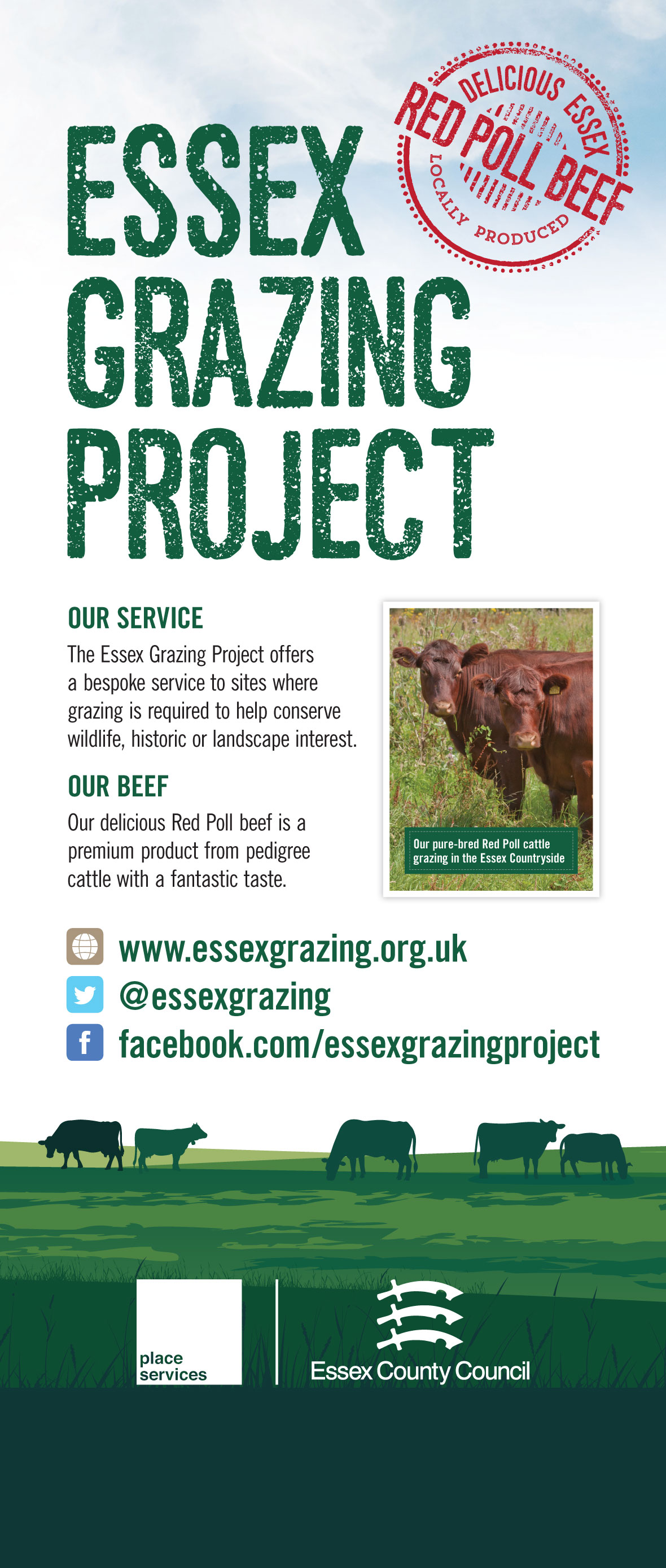 Essex Grazing Project - Pop-up display